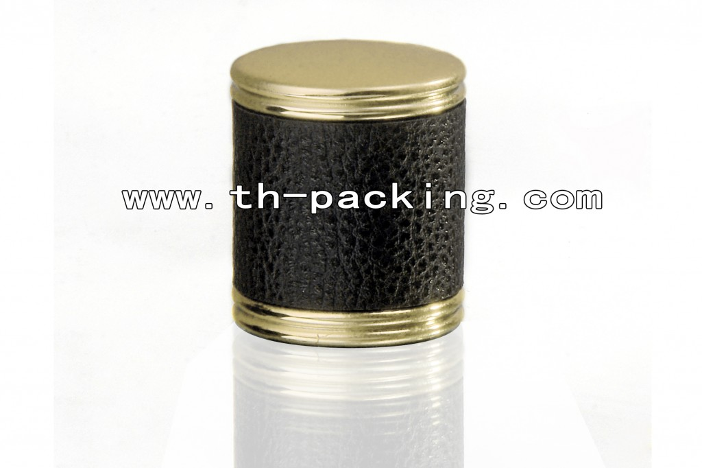 Leather paste perfume cap
